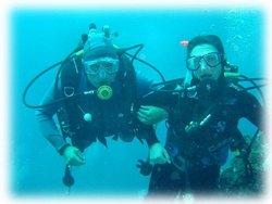 Acompagnement par une moniteur de plongée certifié